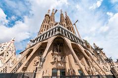 The Passion Facade, La Sagrada Familia - Barcelona