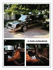 1982 Chrysler K Car Limousine