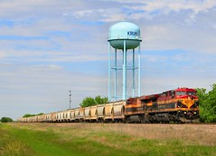 KCS Ash Grove Cement Train