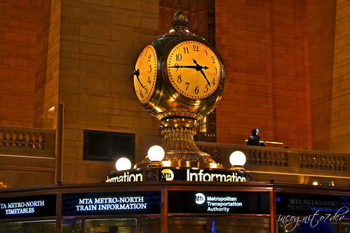 Grand Central Station Clock & Information Booth Manhattan New York City NY P00504 DSC_0718