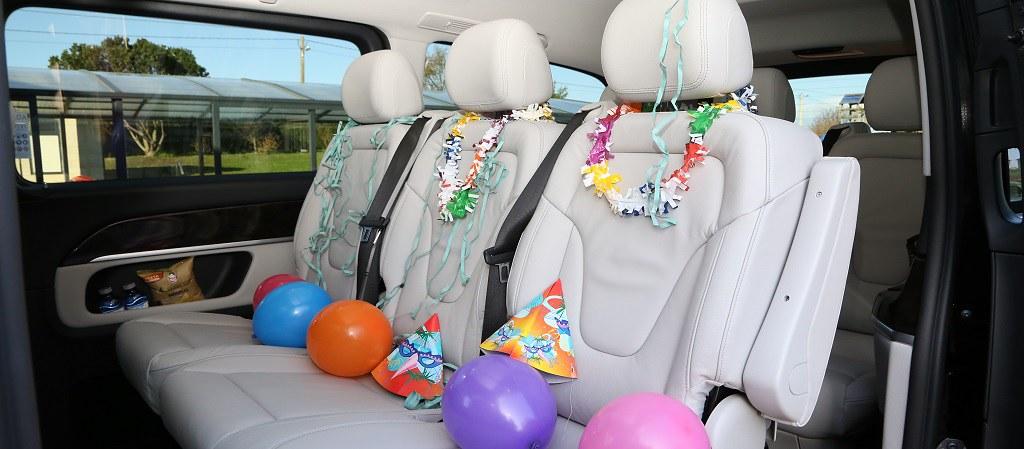 Mini Van Clase V Antagarde para fiestas y despedidas de soltero