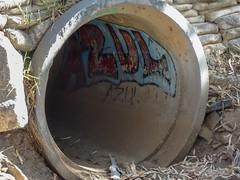 Graffiti in Pipe