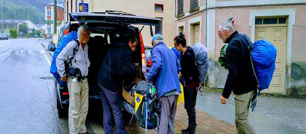 Asistencia al Camino de Santiago peregrinos de etapa en etapa