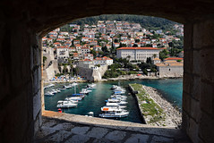 Window View of Dubrovnik