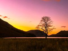 Derwent water, Cumbria, Lake District, England