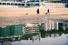 Los edificios y su reflejo