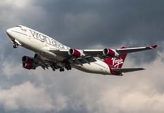 Boeing 747 - Virgin Atlantic - G-VBIG / Tinker Bell