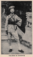 Young Chinese soldier in 1927