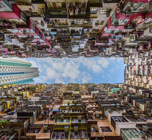 Monster Building in Quarry Bay, Hong Kong