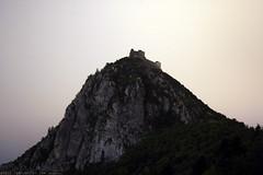 FR11 5748 le Château de Montségur. Ariège.