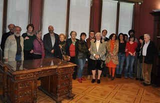 2014 Marzo. Presentación de denuncias para la Querella argentina. A Coruña
