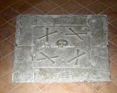 Santo Stefano del Sole (AV), 2003, Chiesa Madre, lastre funerarie.