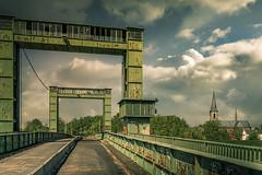 die Brücke nach Walsum ...