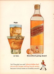 1963 Johnnie Walker Red Whisky Advertisement Time Magazine March 15 1963