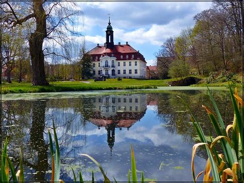 Schloss Reinhardtsgrimma (Parkseite)