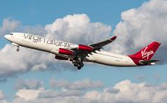 Airbus A340 - Virgin Atlantic - G-VFAR