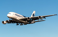 Airbus A380 - Malaysia Airlines - 9M-MNB