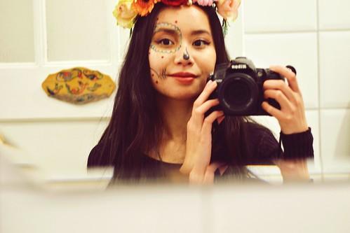 Halloween - La Catrina Selfie