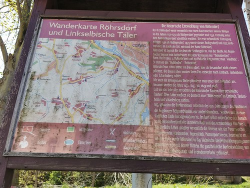 Wanderung - Erst auf den Spuren vom Bernd sei'm Zimmer & dann noch fast 'ne Alpenüberquerung ...und dann gab es noch Höhen und Tiefen á la Baeyer und Klamsdorfer Somm