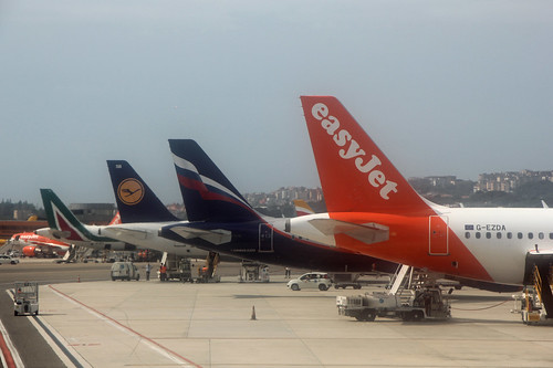 airbus line-up in Napoli
