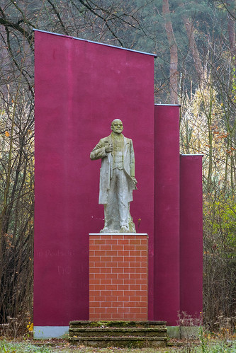 Lenin — hidden in the forrest