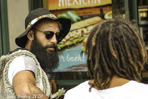 The Bearded Singer.