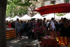 Diada de Sant Jordi 2012