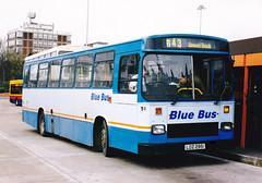 Blue Bus, Wigan.