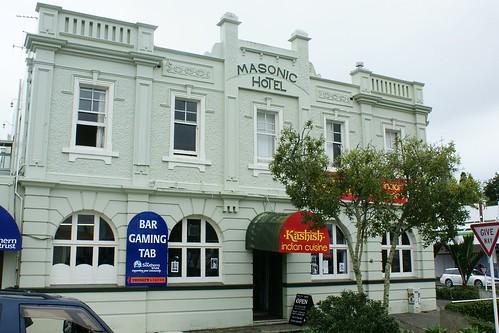 Opotiki: Masonic Hotel (c.1916)