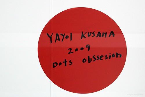 Sign 'Dots Obsession' (Yayoi Kusama)