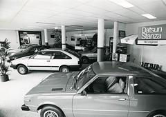 Datsun showroom - Stanza / Cherry