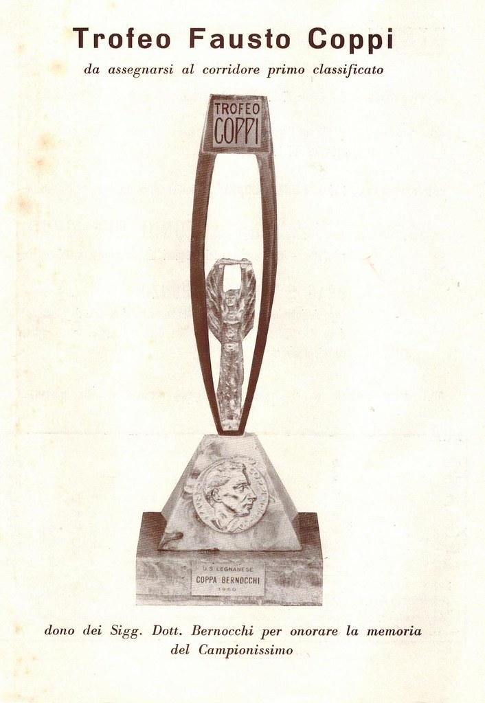 42° Coppa Bernocchi 1960 presentazione corsa