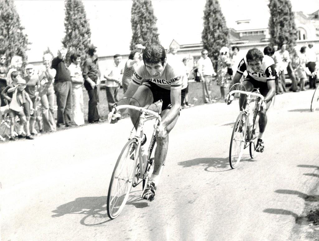 Coppa Bernocchi 1975 - Gimondi in azione