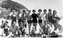 Mack Sennett Beauties, Dana Point, circa 1927