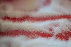 Sugar texture closeup.