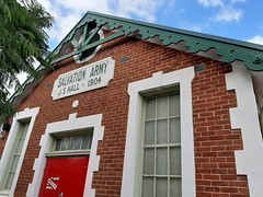 Adelaide. Unley. The Salvation Army Hall built in 1904. Closed because of coronavirus.