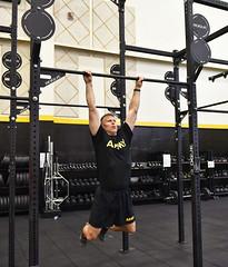 Turner Gym - Crossfit / Functional Fitness Center - U.S. Army Garrison Humphreys, South Korea - Apr. 24. 2020.