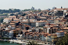 Oporto overview seen from Vila Nova de Gaia