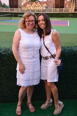 Sue And Michele At The Stadium
