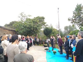 Homenaje al alcalde republicano de San Tirso de Abres