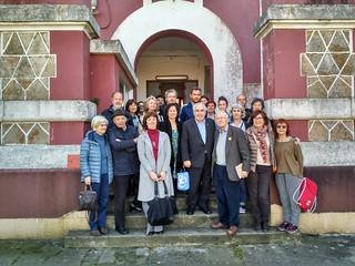 "2017 Marzo. Presentación del libro ""Poemas do 10 de marzo"". A Coruña"