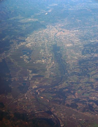Flying over Graz, Austria