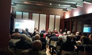 2017 Noviembre. Mesa redonda con expresos politicos. A Coruña
