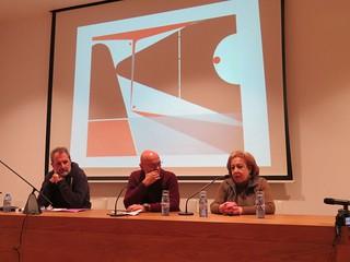 2017 Noviembre. Mesa redonda sobre el pintor Mario Granell. A Coruña