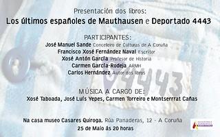 """Presentación del libro """"Los últimos españoles de Mauthausen"""""""
