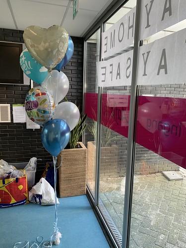 Ballonboeket Beterschap Zorghotel Aafje Rotterdam