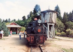 1989 Roaring Camp & Big Trees Railroad