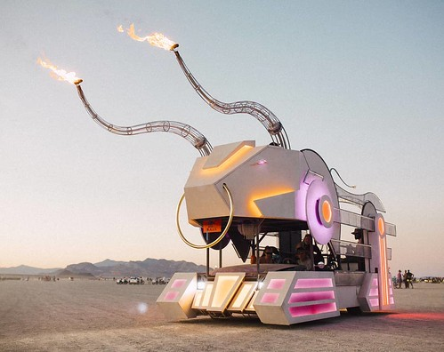 This is #decotoro #mutantvehicle at #burningman last year #iamjohannes
