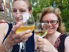 Drea And Sue Say Cheers