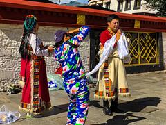 བོད་པ་ Tibetan wedding costume, 拉薩